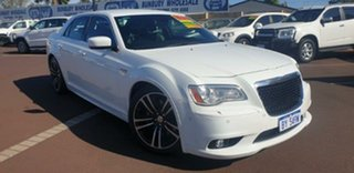 2014 Chrysler 300 LX MY14 SRT-8 Core Satin Vapour White 5 Speed Sports Automatic Sedan.