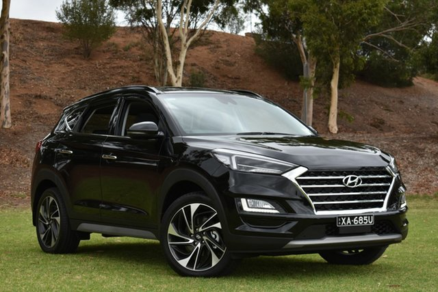 New Hyundai Tucson TL3 MY20 Highlander D-CT AWD, 2019 Hyundai Tucson TL3 MY20 Highlander D-CT AWD Phantom Black 7 Speed Sports Automatic Dual Clutch