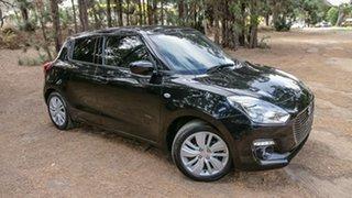 2018 Suzuki Swift AZ GL Navigator Black 5 Speed Manual Hatchback.