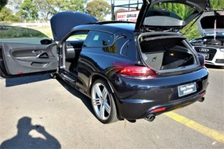 2012 Volkswagen Scirocco 1S MY12 R Coupe DSG Black 6 Speed Sports Automatic Dual Clutch Hatchback
