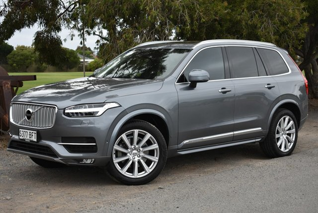 Used Volvo XC90 L Series MY16 D5 Geartronic AWD Inscription, 2015 Volvo XC90 L Series MY16 D5 Geartronic AWD Inscription Grey 8 Speed Sports Automatic Wagon