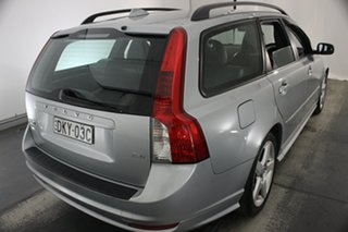 2009 Volvo V50 MY09 LE Silver 5 Speed Sports Automatic Wagon