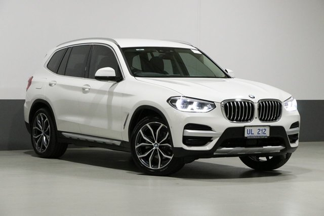 Used BMW X3 G01 MY18.5 xDrive30I, 2018 BMW X3 G01 MY18.5 xDrive30I White 8 Speed Automatic Wagon