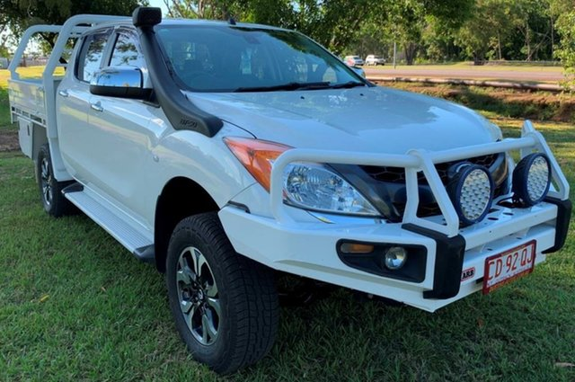 Used Mazda BT-50 UR0YF1 GT, 2015 Mazda BT-50 UR0YF1 GT White 6 Speed Sports Automatic Utility