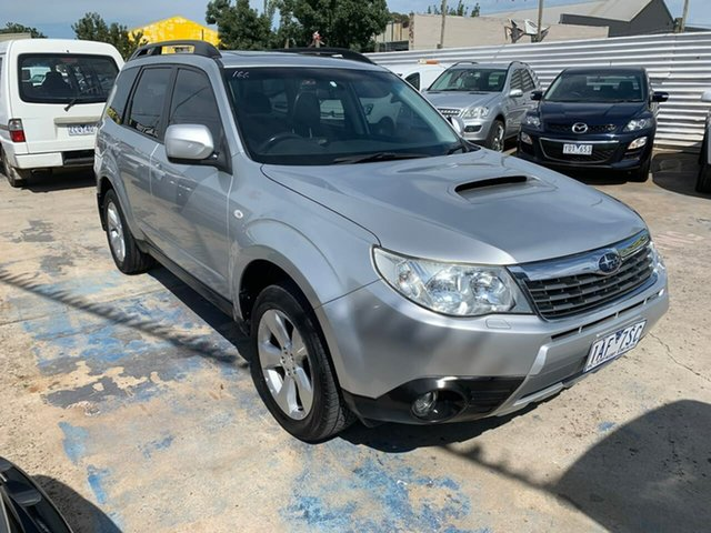 Used Subaru Forester S3 MY09 XT AWD Premium, 2008 Subaru Forester S3 MY09 XT AWD Premium Silver 4 Speed Sports Automatic Wagon