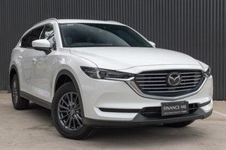 2019 Mazda CX-8 KG2W2A Sport SKYACTIV-Drive FWD Snowflake White Pearl 6 Speed Sports Automatic Wagon.