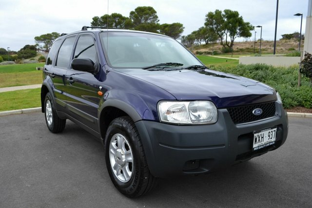 Used Ford Escape ZA XLS, 2003 Ford Escape ZA XLS Blue 4 Speed Automatic Wagon