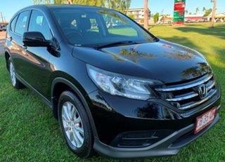 2013 Honda CR-V RM MY14 VTi Navi Black 5 Speed Automatic Wagon.