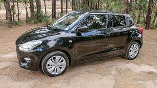 2018 Suzuki Swift AZ GL Navigator Black 5 Speed Manual Hatchback