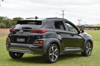 2018 Hyundai Kona OS.2 MY19 Highlander 2WD Phantom Black 6 Speed Sports Automatic Wagon.