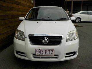 2011 Holden Barina TK MY11 White 5 Speed Manual Sedan