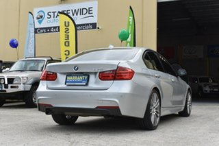 2014 BMW 320i F30 MY14 Upgrade Luxury Line Silver 8 Speed Automatic Sedan.