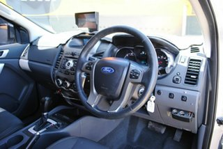 2012 Ford Ranger PX XLT Super Cab Silky Silver 6 Speed Sports Automatic Utility