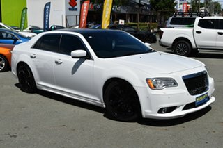 2013 Chrysler 300 SRT8 Core White 5 Speed Automatic Sedan.
