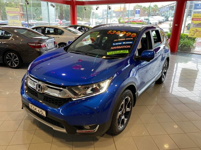 Used Honda CR-V RW MY19 VTi-S 4WD, 2019 Honda CR-V RW MY19 VTi-S 4WD Blue 1 Speed Constant Variable Wagon