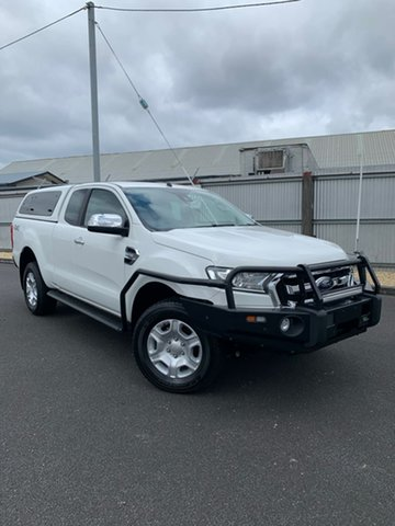 Used Ford Ranger PX MkII XLT Super Cab, 2017 Ford Ranger PX MkII XLT Super Cab White 6 Speed Sports Automatic Utility