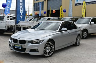2014 BMW 320i F30 MY14 Upgrade Luxury Line Silver 8 Speed Automatic Sedan