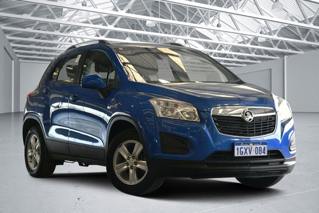 Used Holden Trax TJ MY15 LS, 2015 Holden Trax TJ MY15 LS Blue 6 Speed Automatic Wagon