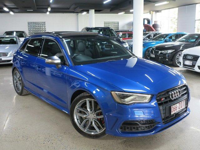 Used Audi S3 8V MY15 Sportback S Tronic Quattro, 2014 Audi S3 8V MY15 Sportback S Tronic Quattro Sepang Blue 6 Speed Sports Automatic Dual Clutch