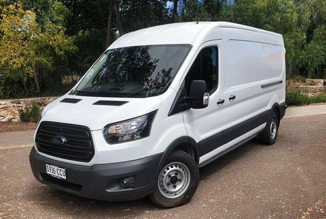Demo Ford Transit VO 2018.75MY 350L Mid Roof LWB, 2019 Ford Transit VO 2018.75MY 350L Mid Roof LWB Frozen White 6 Speed Automatic Van
