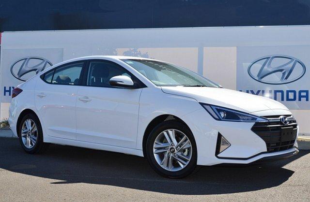 New Hyundai Elantra AD.2 MY20 Active, 2019 Hyundai Elantra AD.2 MY20 Active Polar White 6 Speed Sports Automatic Sedan