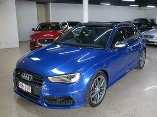 2014 Audi S3 8V MY15 Sportback S Tronic Quattro Sepang Blue 6 Speed Sports Automatic Dual Clutch.