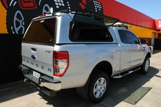 2012 Ford Ranger PX XLT Super Cab Silky Silver 6 Speed Sports Automatic Utility.