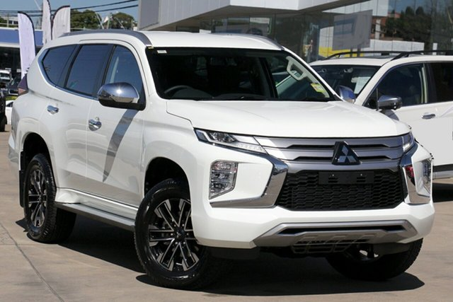 New Mitsubishi Pajero Sport QF MY20 GLS, 2020 Mitsubishi Pajero Sport QF MY20 GLS White 8 Speed Sports Automatic Wagon