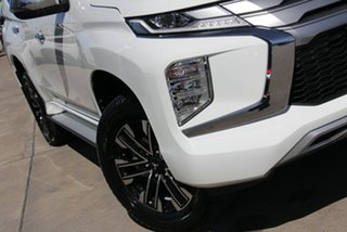 2021 Mitsubishi Pajero Sport QF MY21 GLS White Diamond 8 Speed Sports Automatic Wagon