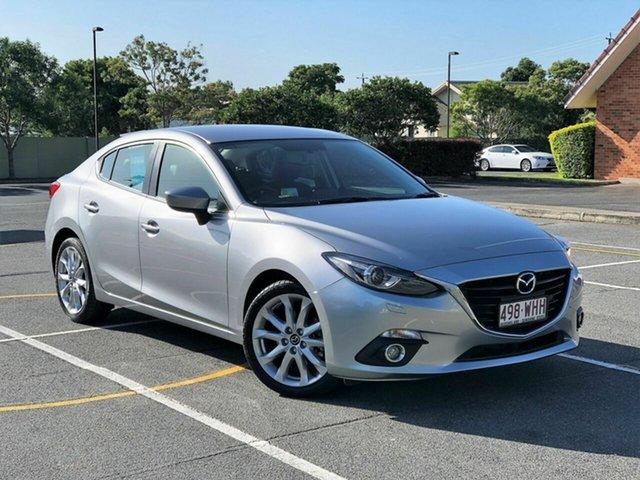 Used Mazda 3 BM5238 SP25 SKYACTIV-Drive GT, 2016 Mazda 3 BM5238 SP25 SKYACTIV-Drive GT Silver 6 Speed Sports Automatic Sedan