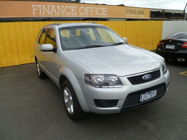 Used Ford Territory SY MkII TS AWD, 2010 Ford Territory SY MkII TS AWD Silver 6 Speed Sports Automatic Wagon