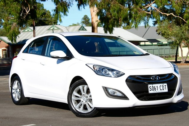 Used Hyundai i30 GD MY14 Elite, 2014 Hyundai i30 GD MY14 Elite White 6 Speed Sports Automatic Hatchback