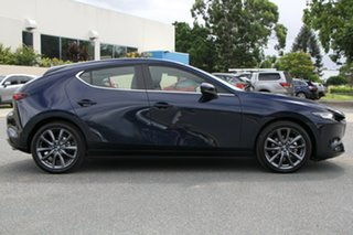 2019 Mazda 3 BP2HLA G25 SKYACTIV-Drive Evolve Deep Crystal Blue 6 Speed Sports Automatic Hatchback.