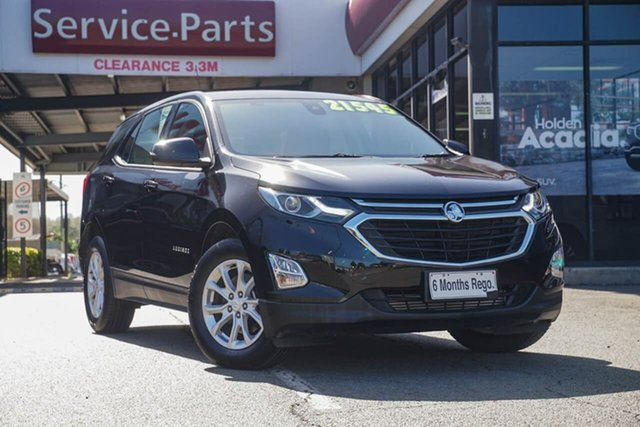 Used Holden Equinox EQ MY18 LS+ FWD, 2018 Holden Equinox EQ MY18 LS+ FWD Black 6 Speed Sports Automatic Wagon