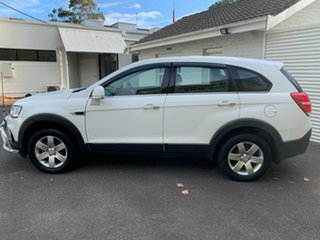 2016 Holden Captiva CG MY17 LS 2WD Summit White 6 Speed Sports Automatic Wagon