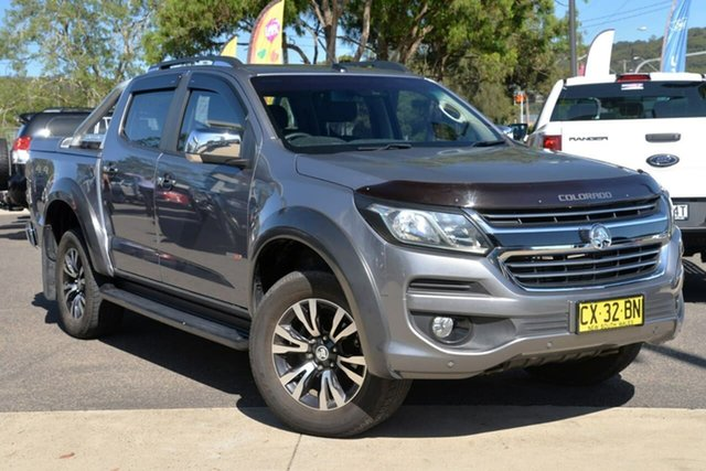 Used Holden Colorado RG MY17 LTZ Pickup Crew Cab, 2016 Holden Colorado RG MY17 LTZ Pickup Crew Cab Grey 6 Speed Sports Automatic Utility