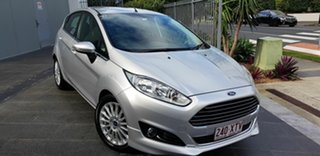 2015 Ford Fiesta WZ Sport Silver 5 Speed Manual Hatchback.