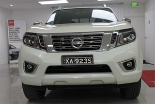2019 Nissan Navara D23 S4 ST-X White Diamond 7 Speed Sports Automatic Utility