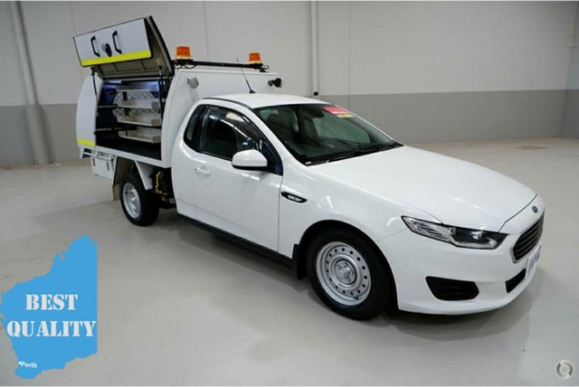 Used Ford Falcon FG X Super Cab, 2015 Ford Falcon FG X Super Cab White 6 Speed Sports Automatic Cab Chassis