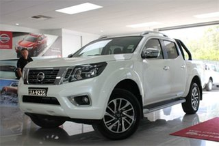 2019 Nissan Navara D23 S4 ST-X White Diamond 7 Speed Sports Automatic Utility.