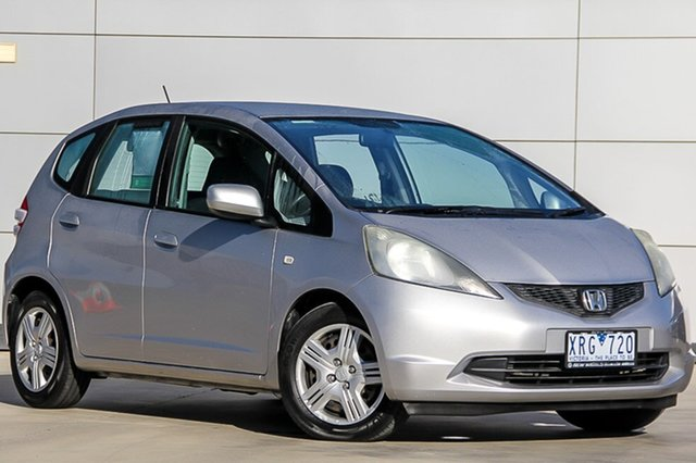 Used Honda Jazz GE MY10 GLi, 2010 Honda Jazz GE MY10 GLi Alabaster Silver 5 Speed Automatic Hatchback