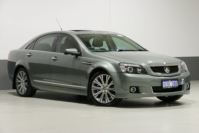 Demo Holden Caprice WN V, 2014 Holden Caprice WN V Grey 6 Speed Auto Active Sequential Sedan