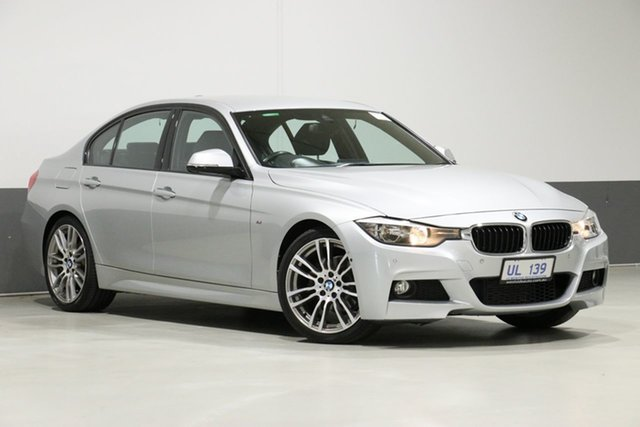 Used BMW 320i F30 MY14 Upgrade , 2014 BMW 320i F30 MY14 Upgrade Glacier Silver 8 Speed Automatic Sedan