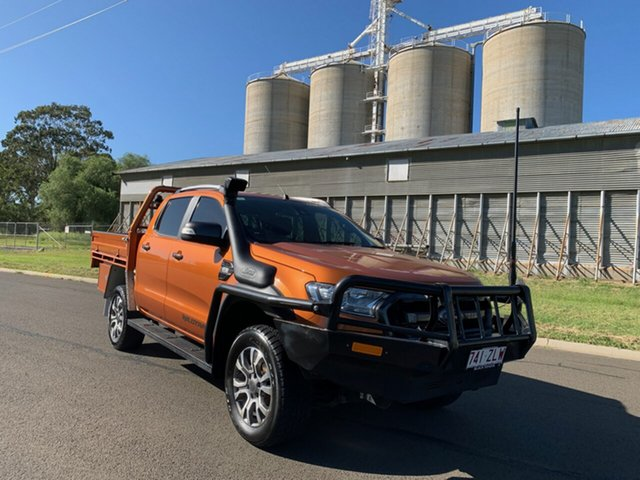 Used Ford Ranger PX MkII Wildtrak 3.2 (4x4), 2016 Ford Ranger PX MkII Wildtrak 3.2 (4x4) 6 Speed Automatic Dual Cab Pick-up