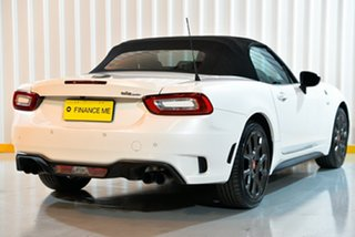 2018 Abarth 124 348 Series 1 Spider White 6 Speed Manual Roadster