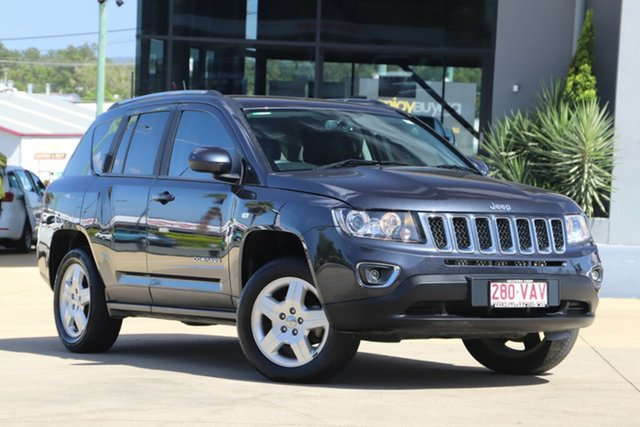 Used Jeep Compass MK MY14 North, 2013 Jeep Compass MK MY14 North Grey 6 Speed Sports Automatic Wagon