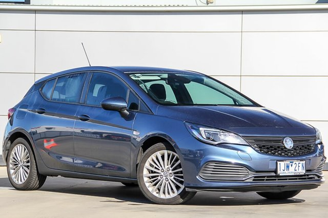 Used Holden Astra BK MY17 R+, 2017 Holden Astra BK MY17 R+ Deep Sky Blue 6 Speed Sports Automatic Hatchback