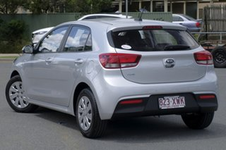 2017 Kia Rio YB MY18 S Silky Silver 4 Speed Sports Automatic Hatchback.