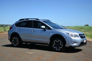 2013 Subaru XV MY14 2.0I Ice Silver Continuous Variable Wagon.