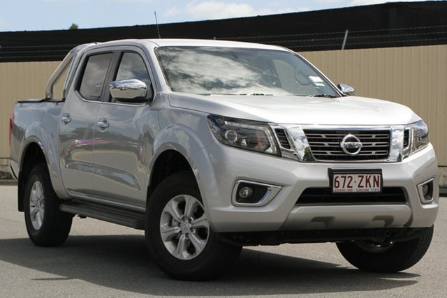 Demo Nissan Navara D23 S4 MY19 ST, 2019 Nissan Navara D23 S4 MY19 ST Brilliant Silver 7 Speed Sports Automatic Utility